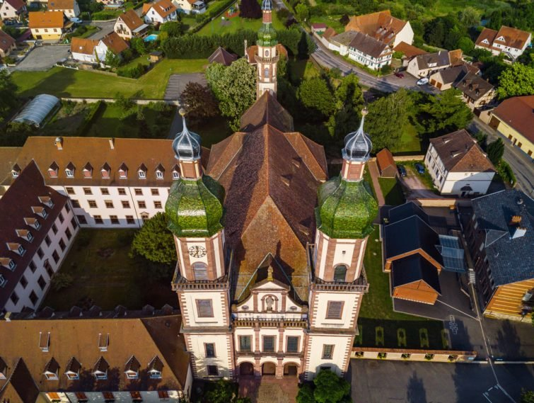 L'abbaye d'Ebersmunster