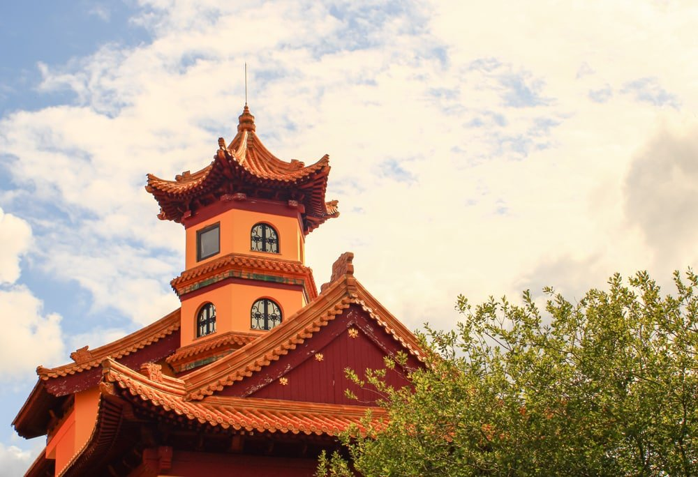 La pagode d'Évry