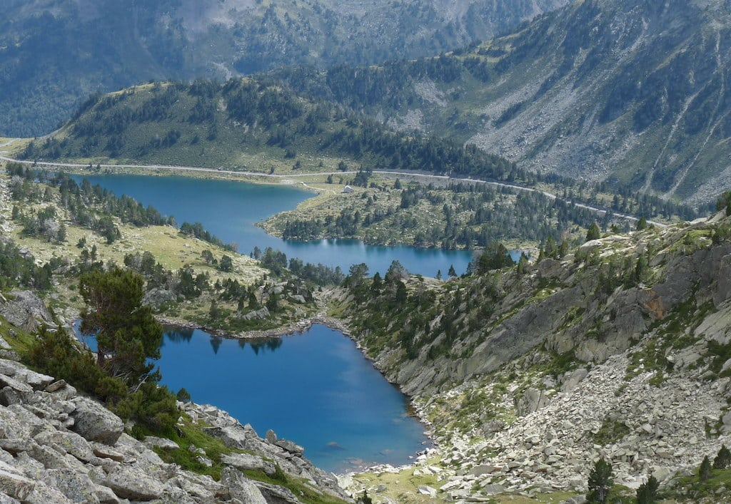 Lac d'Aygues-Cluses