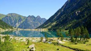 Lacs des Pyrénées - Mise en page