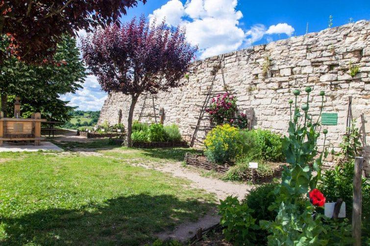 Visiter Capdenac-le-Haut Le Jardin des Cinq Sens