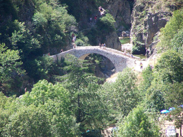 Le Pont du Diable.
