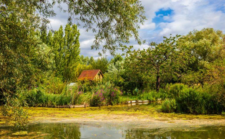 Visiter à Bourges : Les marais de Bourges