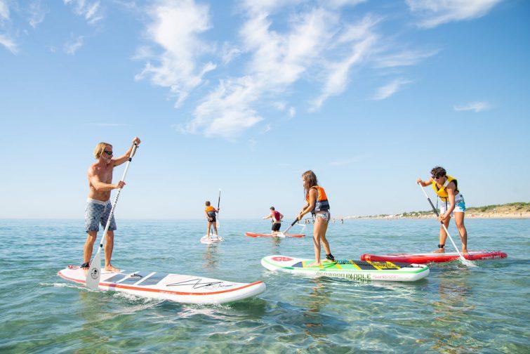 Vister l'étang de Thau : Paddle à Marseillan