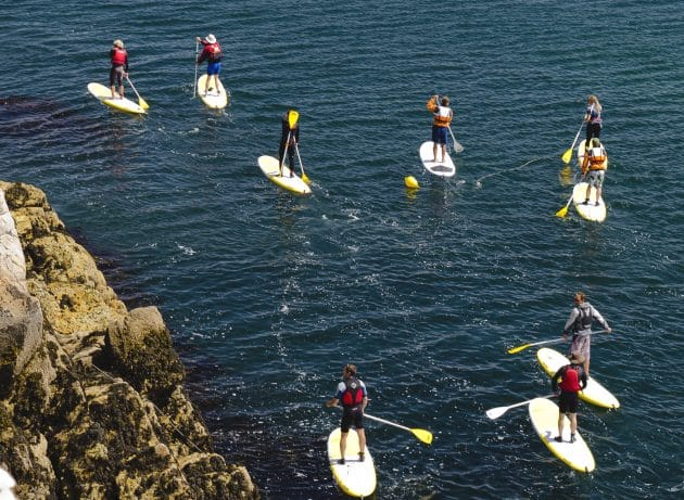 10 endroits où faire du paddle en Bretagne