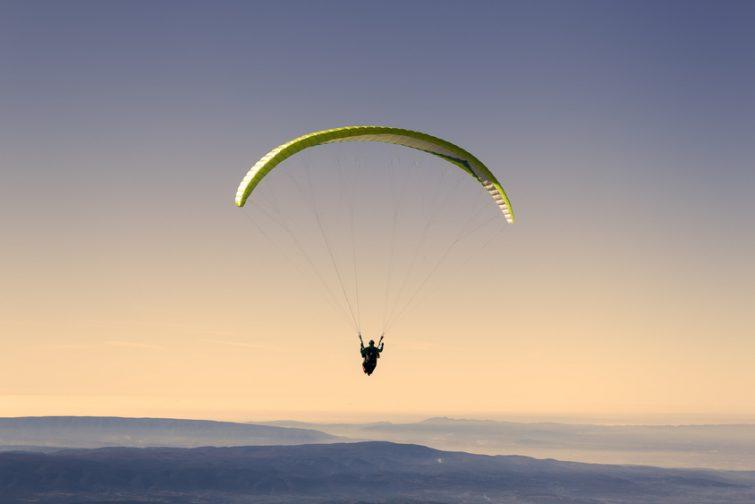 Parapente au Mont Ventoux