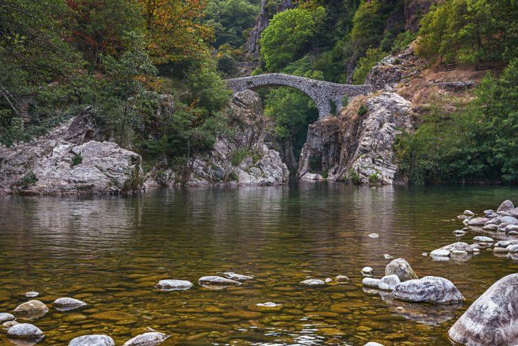 Pont du Diable or Devil Bridge