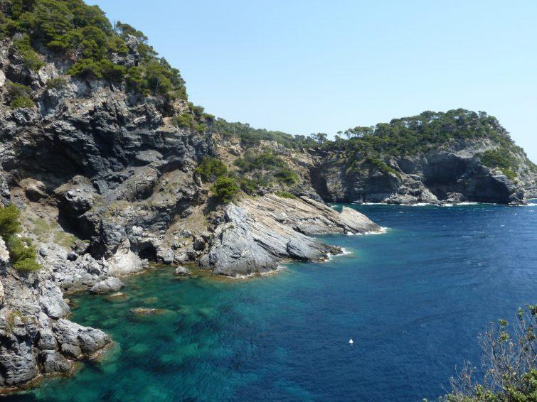 Kayak en mer de Provence : Presqu'île de Giens