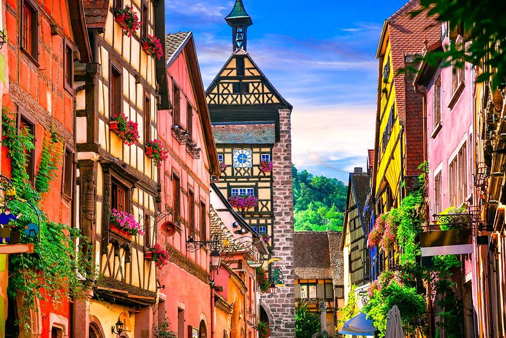 Plus beaux villages du Grand Est : Riquewihr