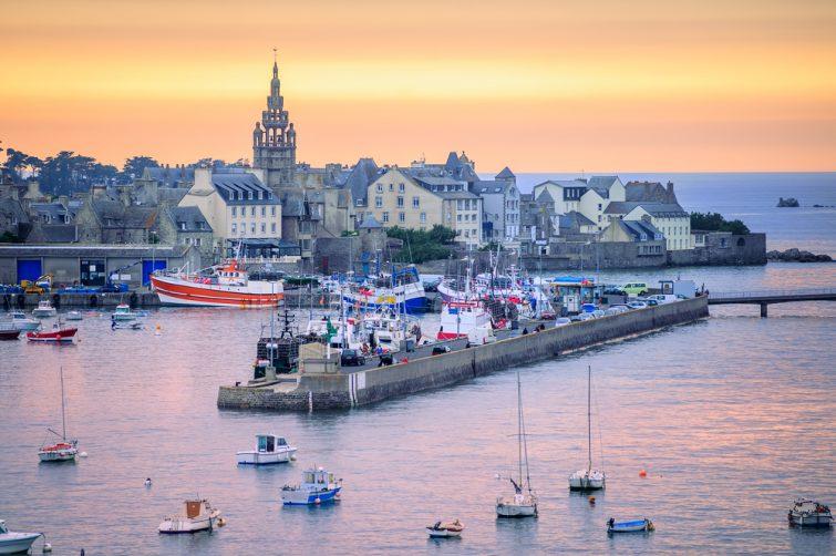 Visiter au Finistère : Roscoff