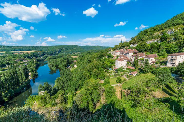 Saint-Cirq-Lapopie pt de vue