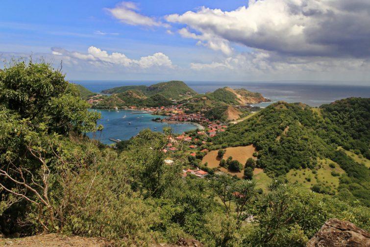 Visiter l'Île des Saintes : le Sommet du Chameau