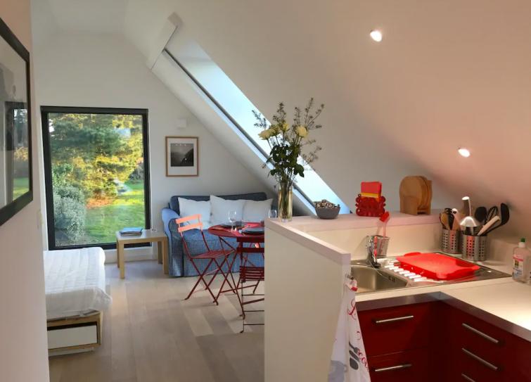 Studio design dans une propriété d'un hectare