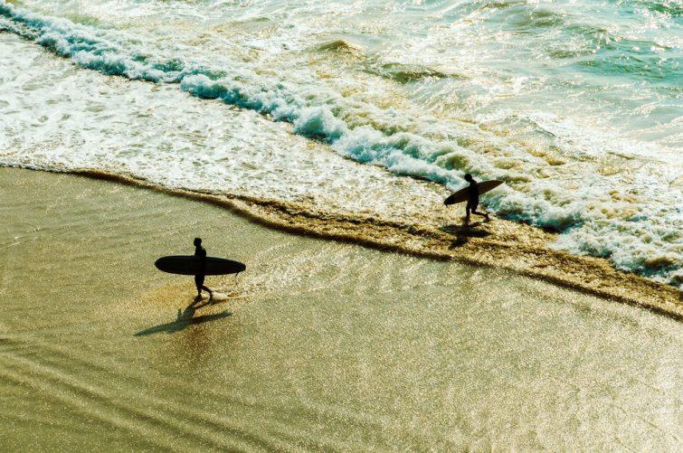 Visiter le Pays basque français : Surf à Biarritz