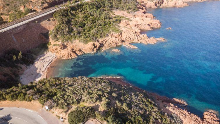 Paddle sur la Cote d'Azur : Théoule-sur-Mer