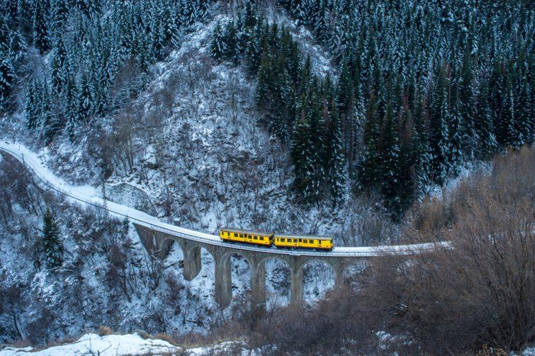 Train jaune des Pyrénées