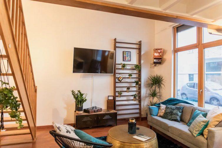 Airbnb loft au Havre