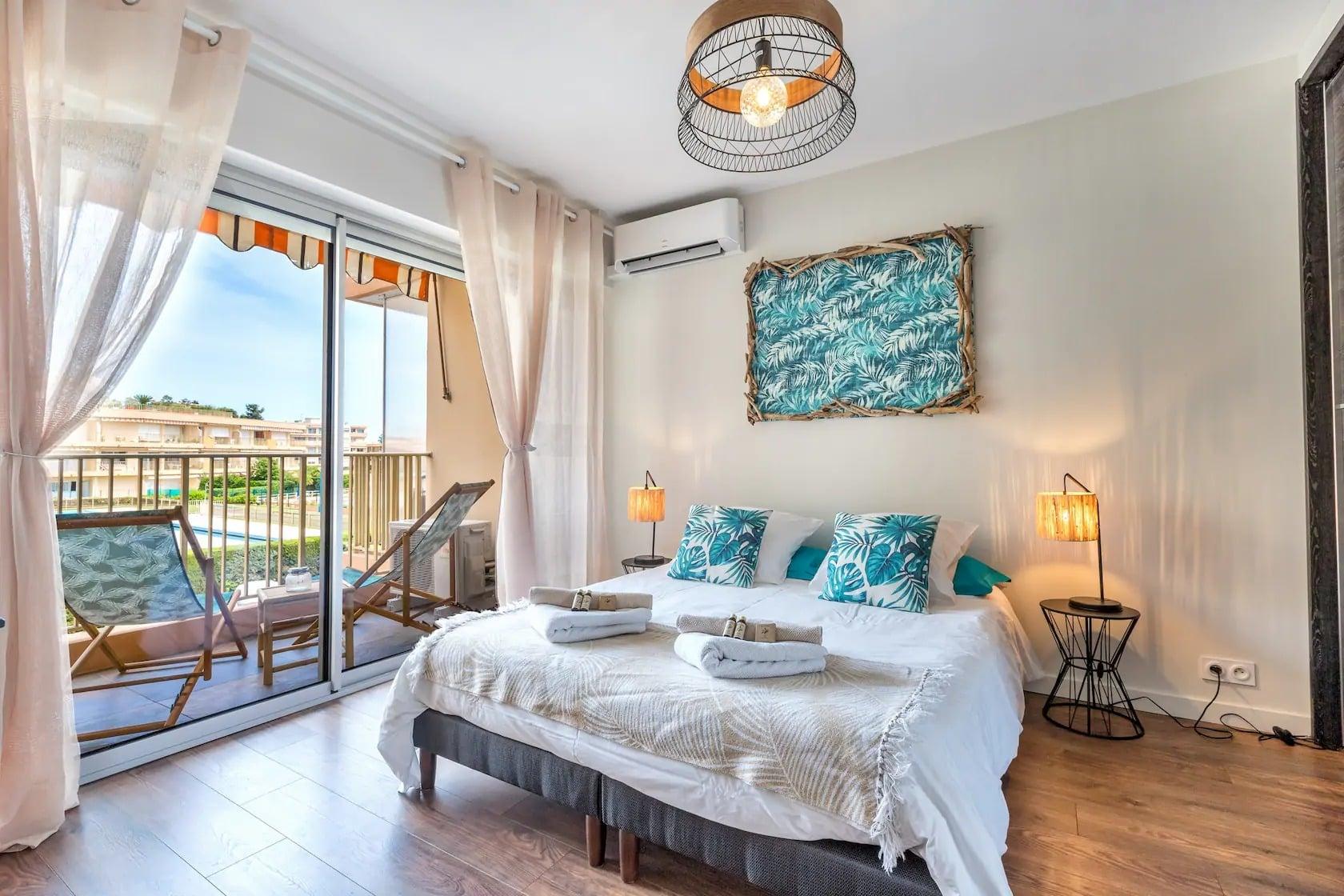 Airbnb à Mandelieu-la-Napoule