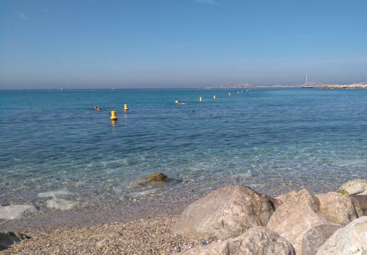 Plus belles plages de Marseille : Plage de la Vieille Chapelle
