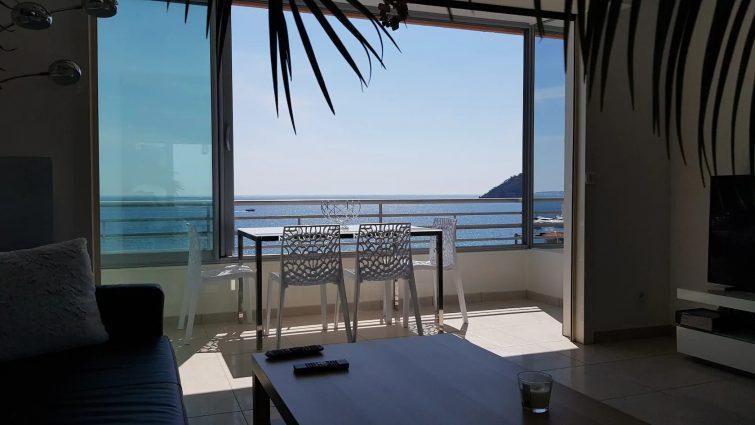 Appartement vue mer à Mandelieu-la-Napoule