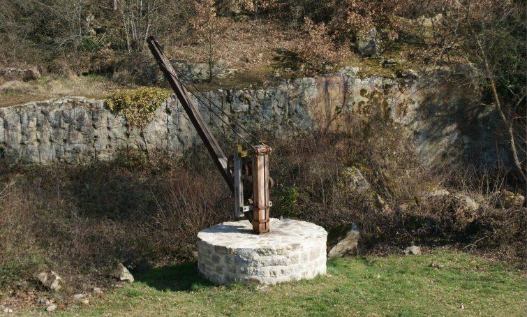 Carrière de pierres Arkose, Montpeyroux
