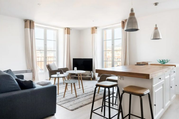 Nice : appartement avec balcon dans la vieille ville