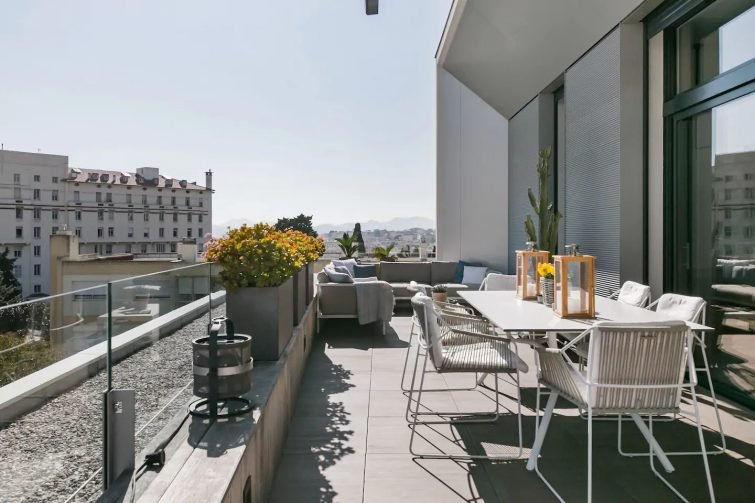 Cannes : appartement terrasse panoramique