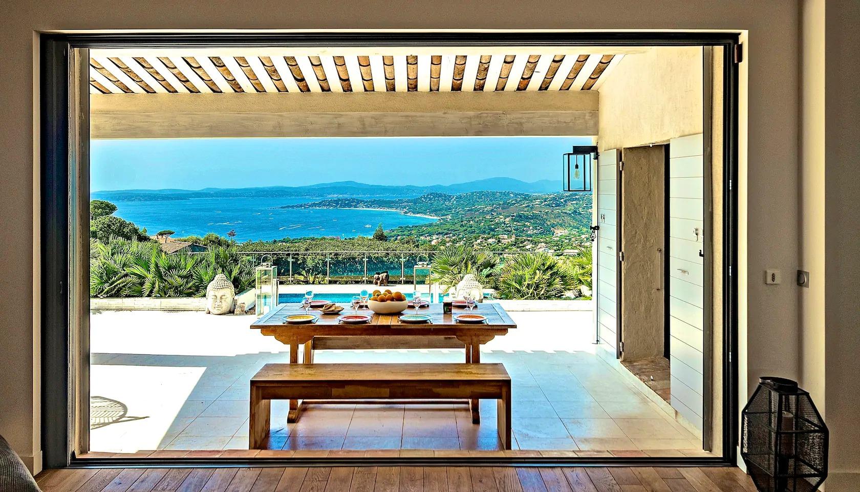 Les Issambres : villa avec vue