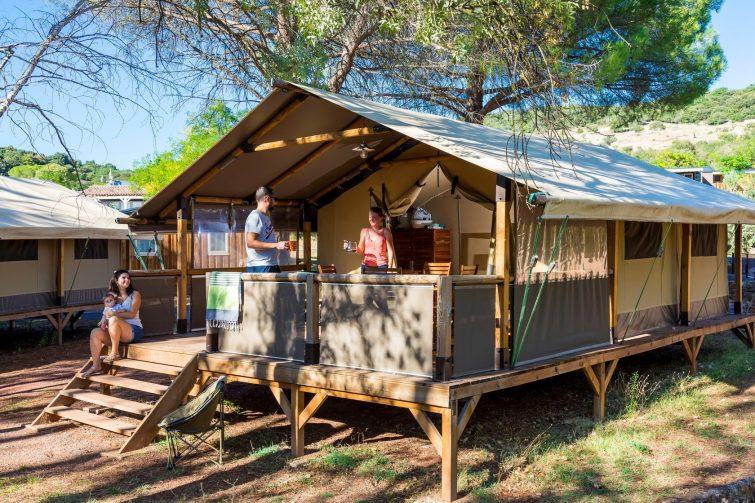 camping salagou