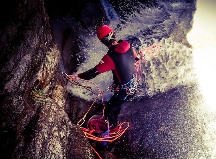 Le canyoning au Pic du Canigou