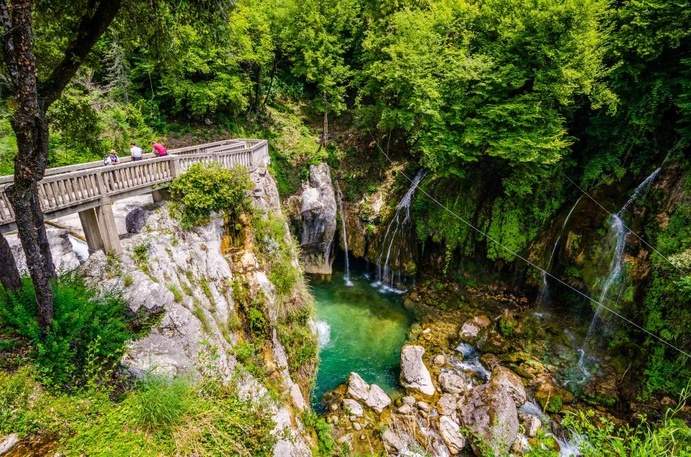 cascades du Saut-du-Loup balades autour de Nice