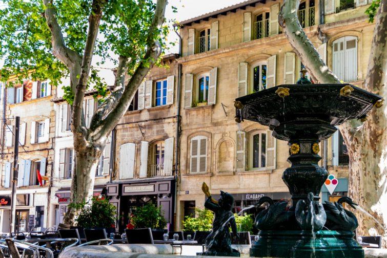 Le centre ville historique d'Avignon