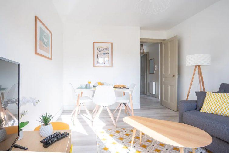 Airbnb le Danton Renaissance, Le Havre