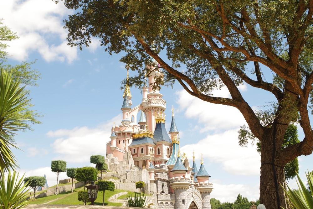 Disneyland Paris, château Cendrillon