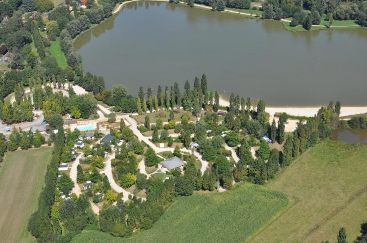 Le camping du Lac de Groléjac