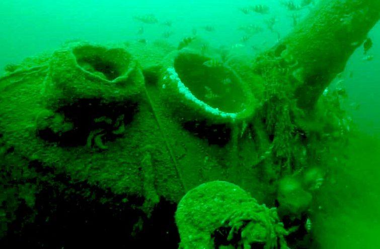Visiter l'Île de Ré : L'épave du Nautilus