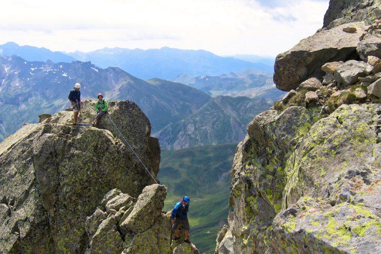 Visiter la Vallée d'Ossau : escalade