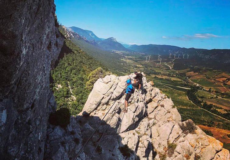 Escalade au Pic du Canigou