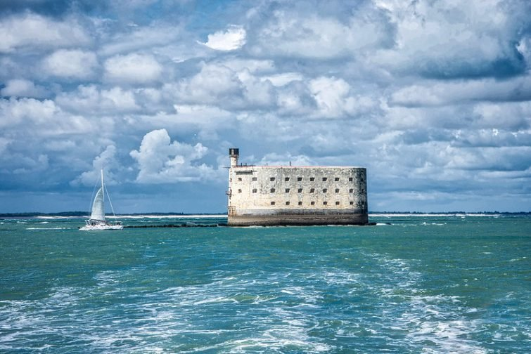 Visiter l'Île de Ré : Fort Boyard - visiter Charente-Maritime