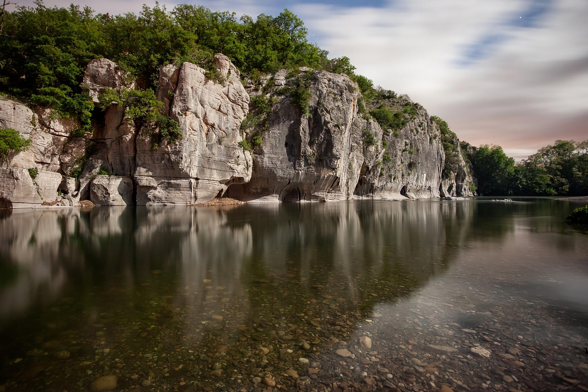 canyon France - Canyoning dans les gorges du Tarn : les gorges du Chassezac