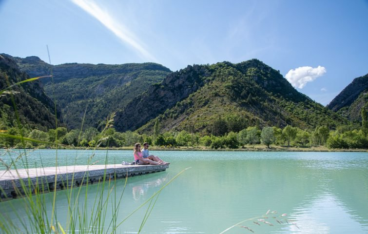 Visiter le Parc Naturel Régional des Baronnies Provençales et le lac des Pas des Ondes