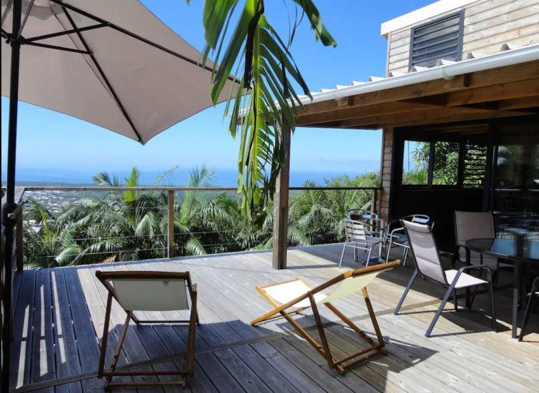 Maison entre océan et montagne, La Réunion