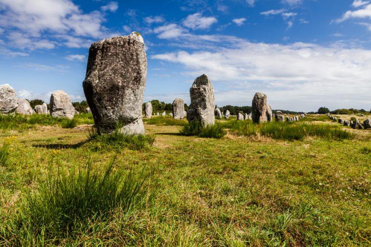 Visiter la Presqu'île de Crozon : les mégalithes