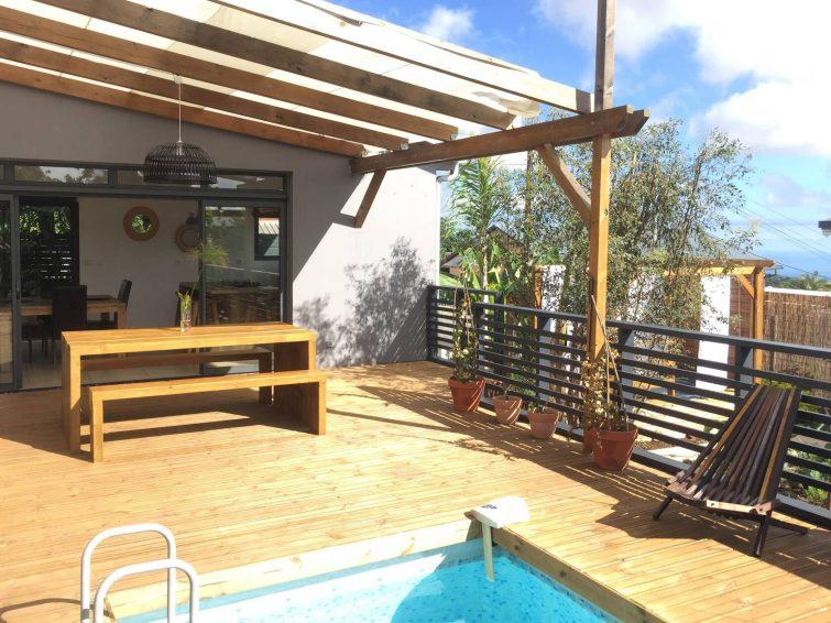 Airbnb avec piscine et spa, Le Tampon, La Réunion