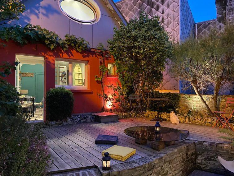 Airbnb au Havre : maison avec jardin