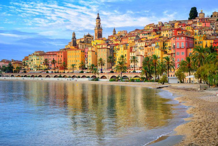 Plus beaux villages autour de Nice : Menton