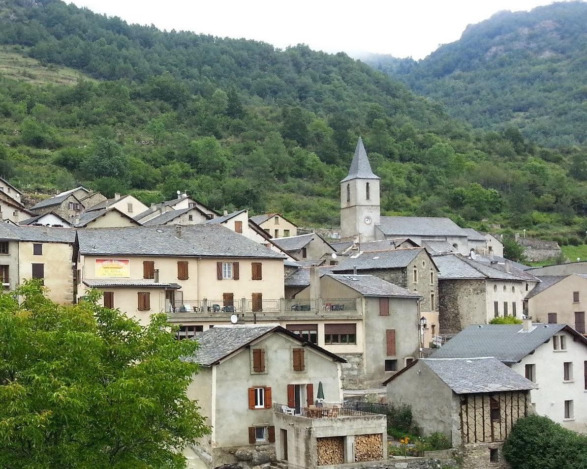 Le village de Mijanes