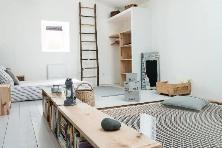 Airbnb : Loft avec filet géant entre Pornic et Noirmoutier