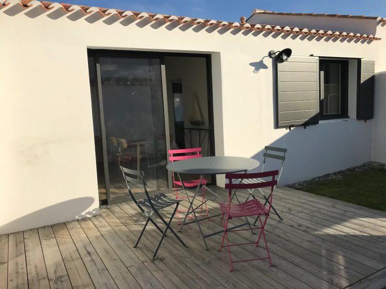 Airbnb Noirmoutier : Maison 2 chambres au vieil à 250m de la mer