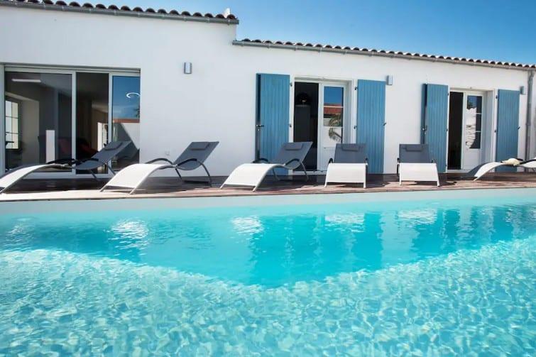 Villa 5 étoiles avec piscine chauffée